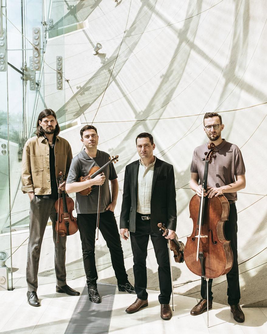 Atom String Quartet fot. Z. Zija, J. Pióro