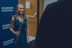 Solistka koncertu, Anna Kudala za kulisami.
