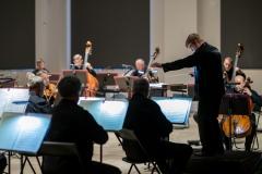 Orkiestra Symfoniczna Filharmonii Śląskiej pod batutą Szymona Bywalca
