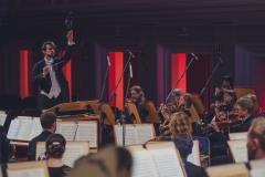 Yaroslav Shemet widoczny z perspektywy orkiestry