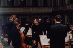 Schodzący ze sceny dyrygent - Aleksandar Marković