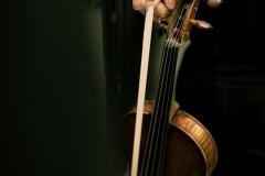 Zbliżenie na skrzypce