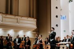 Yaroslav Shemet, Orkiestra Symfoniczna Filharmonii Śląskiej na estradzie