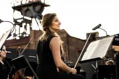 Sekcja skrzypiec Orkiestry Symfonicznej Filharmonii Śląskiej