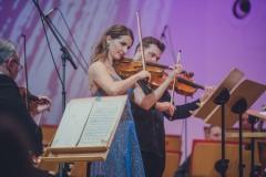 Soliści: Anna Podulka (skrzypce) i Rafał Woźniak (altówka),
