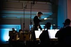 Yaroslav Shemet na podium dyrygenckim