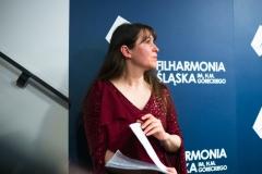 Agnieszka Kaczmarek-Bialic za kulisami