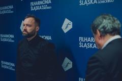 Piotr Sałajczyk i Mirosław Jacek Błaszczyk za kulisami