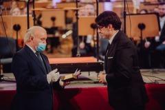 Wręczanie Medalu Gloria Artis Adamowi Wesołowskiemu