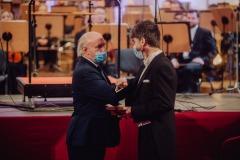 Wręczanie Medalu Gloria Artis Jarosławowi Wolaninowi