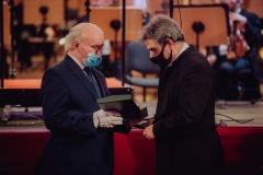 Wręczanie Medalu Gloria Artis Mirosławowi Jackowi Błaszczykowi