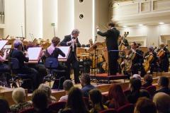 Raffaele Trevisani, Massimiliano Caldi,  muzycy Orkiestry Symfonicznej Filharmonii Śląskiej