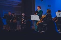Śląska Orkiestra Kameralna, Regina Gowarzewska, prowadząca koncert