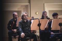 Sekcja skrzypiec Śląskiej Orkiestry Kameralnej