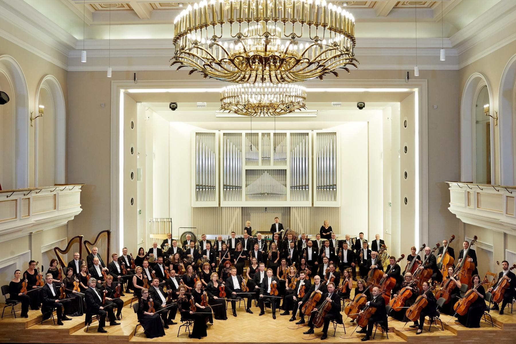 Orkiestra Symfoniczna Filharmonii Śląskiej fot. Karol Fatyga