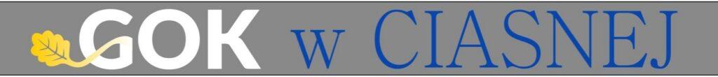 Logo Gminnego Ośrodka Kultury w Ciasnej