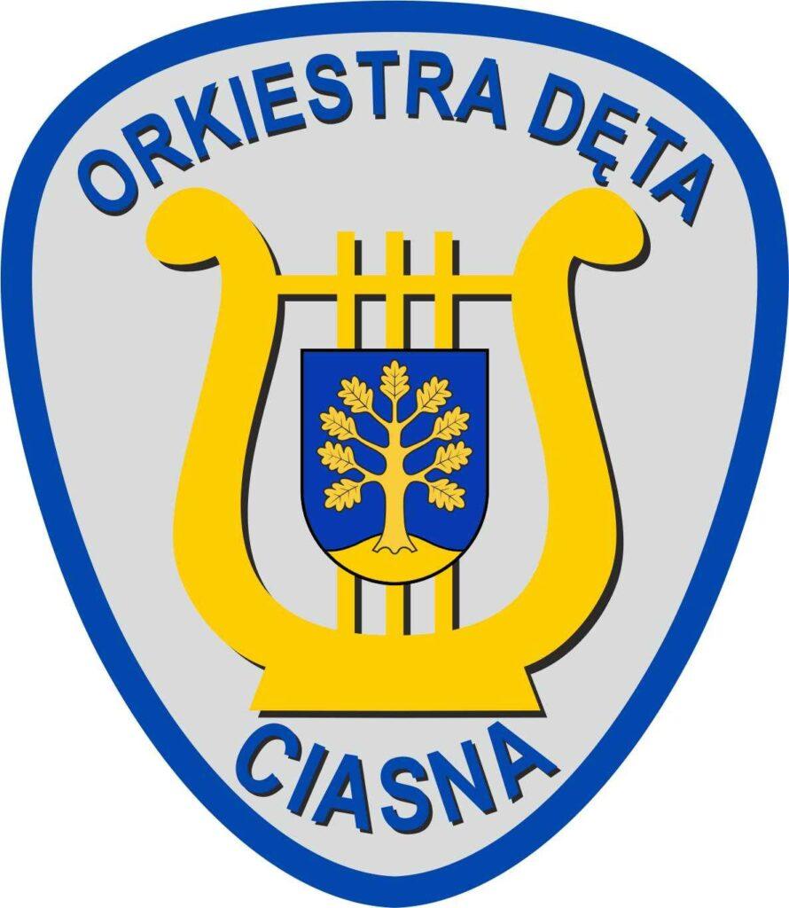 Logo Gminnej Orkiestry Dętej w Ciasnej