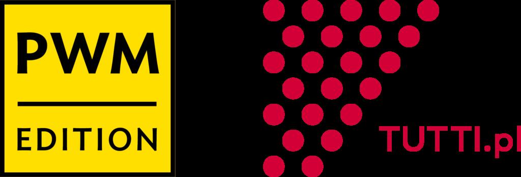 Logotypy Polskiego Wydawnictwa Muzycznego oraz programu TUTTI.PL