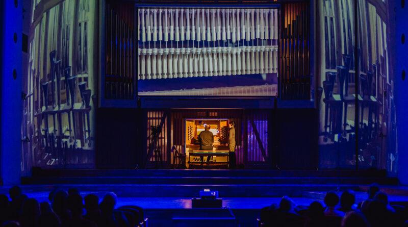 Organy w sali koncertowej im. Karola Stryji