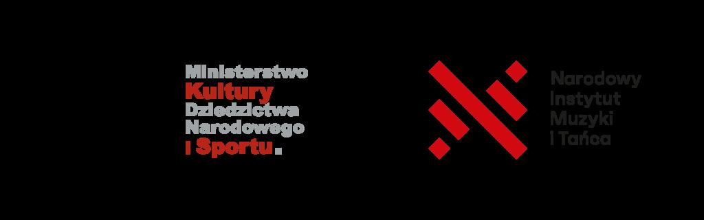 Logotypy Ministerstwa Kultury, Dziedzictwa Narodowego i Sportu i Narodowego Instytutu Muzyki i Tańca